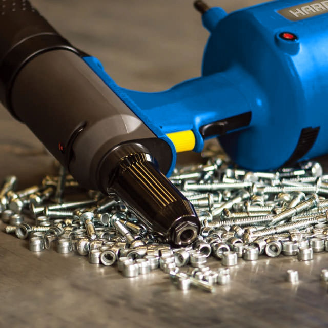 Industrial tools for riveting technology
